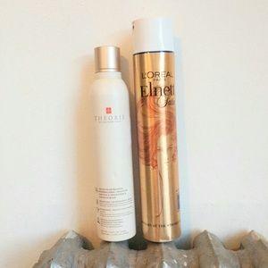 L'Oreal Elnett, Theorie Argan Hairspray Extra Hold